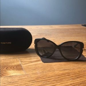 Tom Ford Linda Black Sunglasses